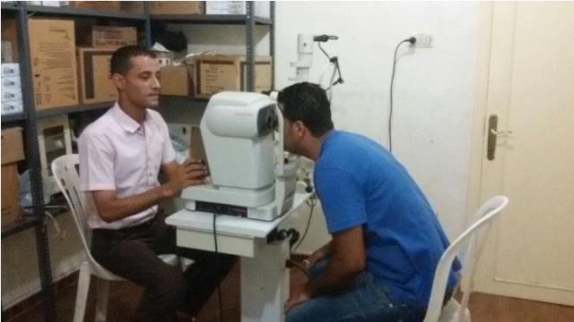 تقرير حول مركز الشفاء الطبي في مخيمي الشمال