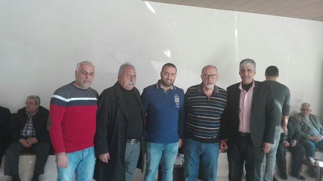 الجبهة الشعبية لتحرير فلسطين في الشمال تزور سعادة النائب الأستاذ اصطفان الدويهي في دارته