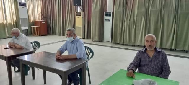 وفد من المكتب الإداري لاتحاد نقابات عمال فلسطين في  منطقة صور يلتقي مسؤول ملف العمال في حركة أمل