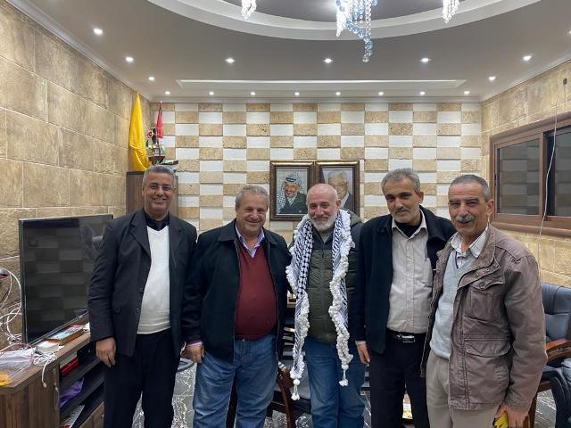 وفد من الجبهة الشعبية في صور يلتقي العميد توفيق عبد الله