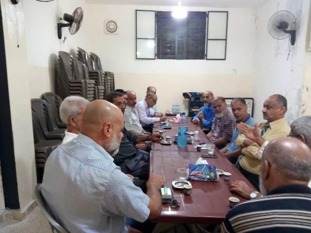 الجبهة الشعبية لتحرير فلسطين تزور رابطة عشيرة غوير أبو شوشه