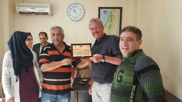وفد من مؤسسة إيرورا زار جمعية الشفاء الطبية في البداوي