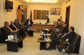 بيان صادر عن اللجنة السياسية الفلسطينية العليا في لبنان المنبثقة عن قيادة الفصائل والقوى الوطنية والاسلامية الفلسطينية في لبنان