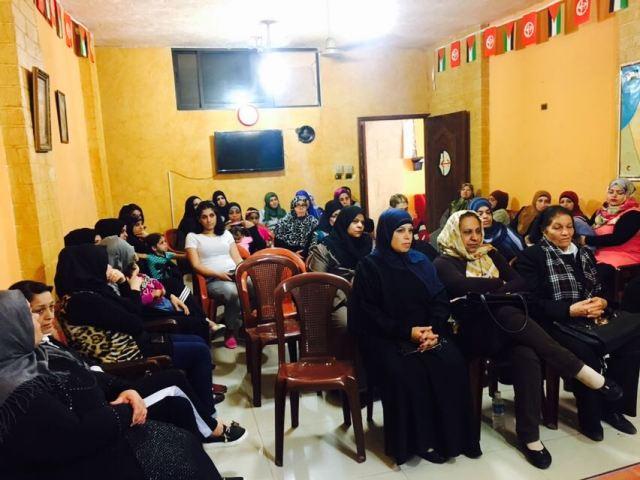 ندوة سياسية في مخيم عين الحلوة تضامنًا مع الأسرى المضربين عن الطعام