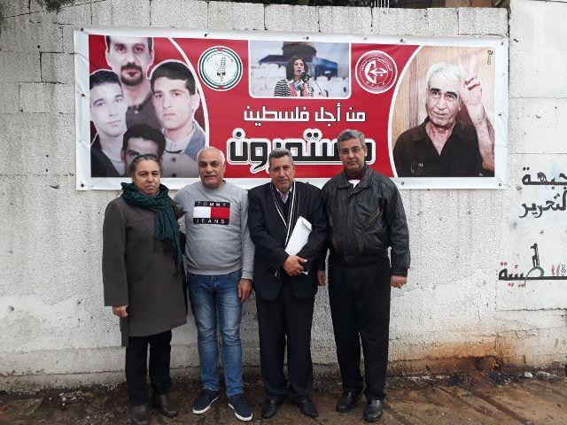 لجنة الأسرى والمحررين للجبهة الشعبية في لبنان تعقد اجتماعها الدوري