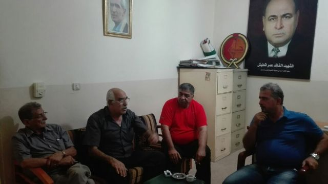 لجنة الأسرى والمحررين في الشعبية التقت هيئة التنسيق اللبنانية الفلسطينية للأسرى والمحررين