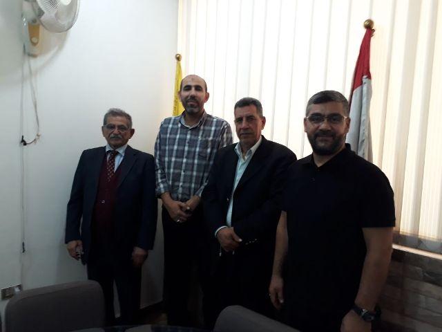 لجنة الأسرى والمحررين في الشعبية تلتقي الجمعية اللبنانية للأسرى والمحررين في لبنان