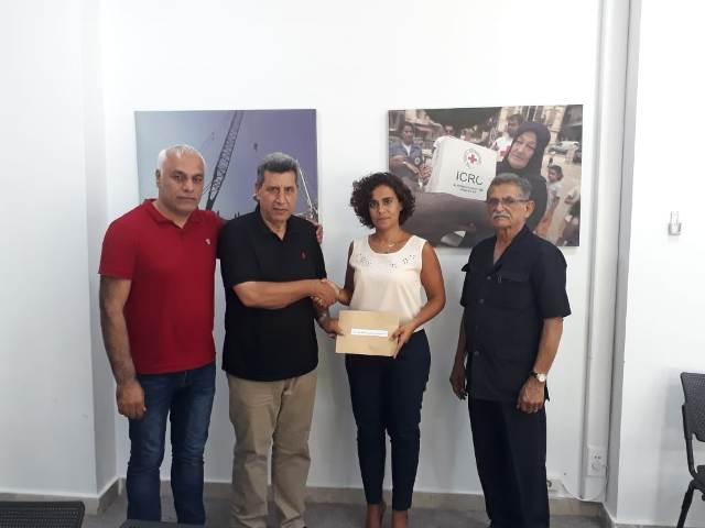 لجنة الأسرى والمحررين للجبهة الشعبية لتحرير فلسطين في لبنان تلتقي الصليب الأحمر الدولي في لبنان
