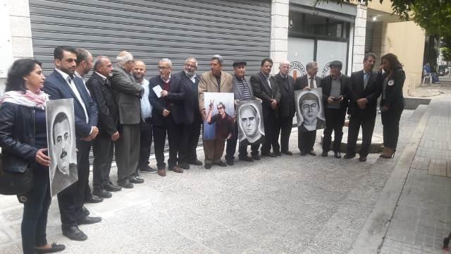 مركز الخيام لتأهيل ضحايا التعذيب ولجنة الاسرى والمحررين في لبنان نفذ وقفة تضامنية مع الاسرى في سجون الاحتلال الاسرائيلي،