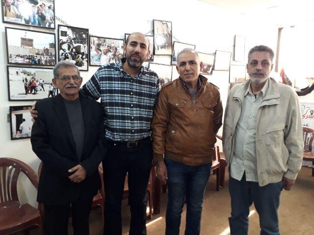 لجنة الأسرى والمحررين تلتقي الجمعية اللبنانية للأسرى والمحررين