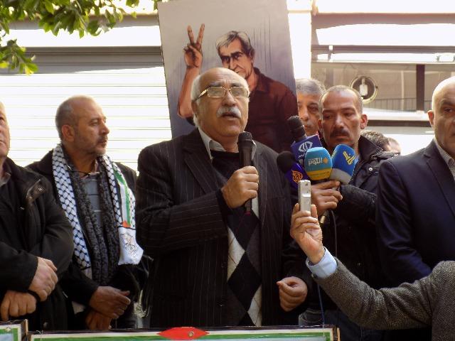 اعتصام خميس الأسرى 188 أمام الصليب الأحمر الدولي