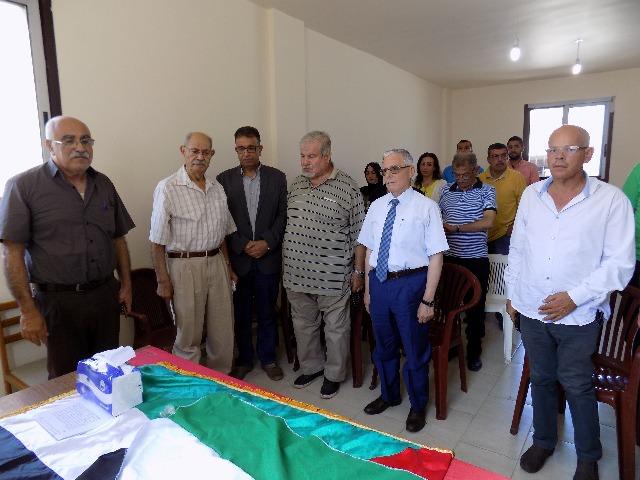 لجنة الأسرى والمحررين في الجبهة الشعبية لتحرير فلسطين تكرم الأممية فيلتسيا لانجر