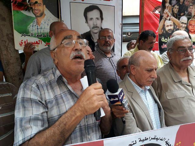 أبو جابر: لضرورة مواصلة حملات التضامن مع الأسرى البواسل في سجون العدو الصهيوني