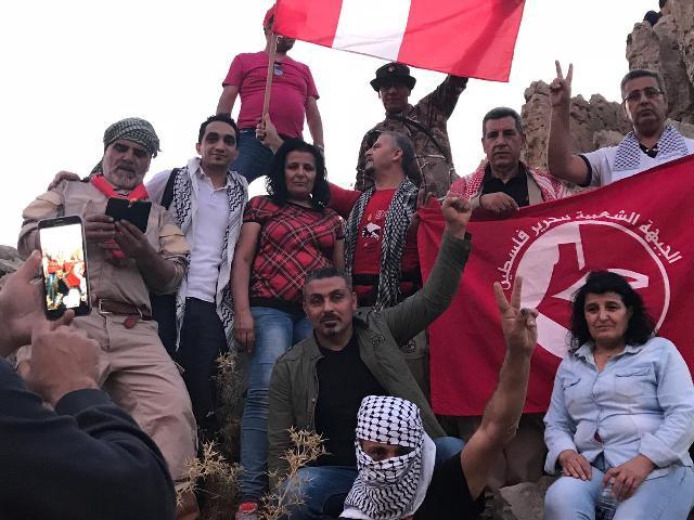 مسير إلى سفوح جبل الشيخ بذكرى انطلاقة جبهة المقاومة اللبنانية