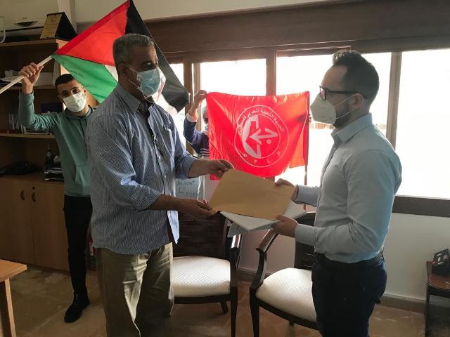 لجنة الأسرى والمحرريين في الجبهة الشعبية لتحرير فلسطين منطقة صور سلمت مذكرة للصليب الأحمر