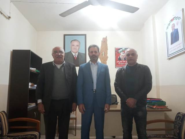 الجبهة الشعبية لتحرير فلسطين تلتقي ممثل حركة الجهاد الإسلامي في لبنان