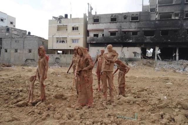غزة أرض الصفر- شيرين العكة