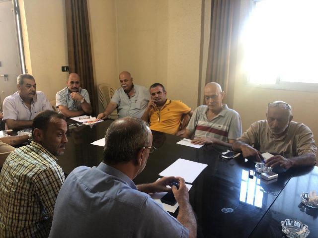 اللجنة الميدانية لملف إعمار مخيم نهر البارد عقدت اجتماعها في مكتب اللجنة الشعبية