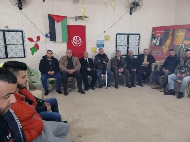 الشعبية في مخيم الجليل تحتفي بذكرى انطلاقتها الـ52