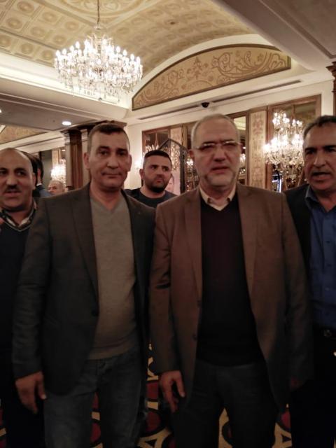 الشعبية تشارك بحفل الذكرى الثانية والسبعين لحزب البعث العربي الاشتراكي