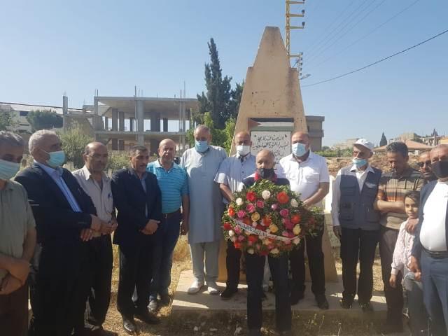 فصائل المقاومة واللجان الشعبية الفلسطينية في البقاع  تزور أضرحة الشهداء