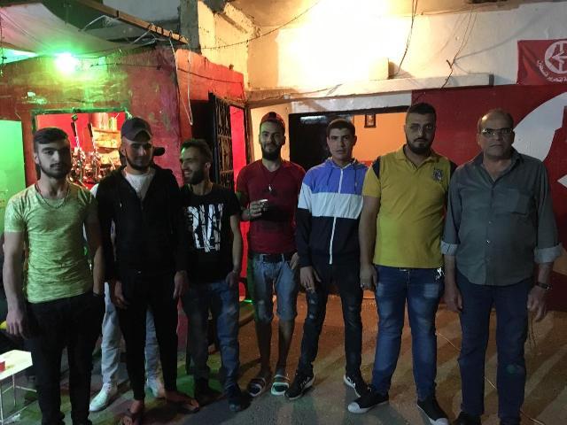 منظمة الشبيبة الفلسطينية تقيم وقفة تضامنية في ذكرى النكبة
