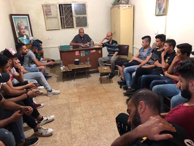منظمة الجبهة الشعبية لتحرير فلسطين، في بعلبك، ومنظمة الشبيبة الفلسطينية تقيمان ندوة سياسية