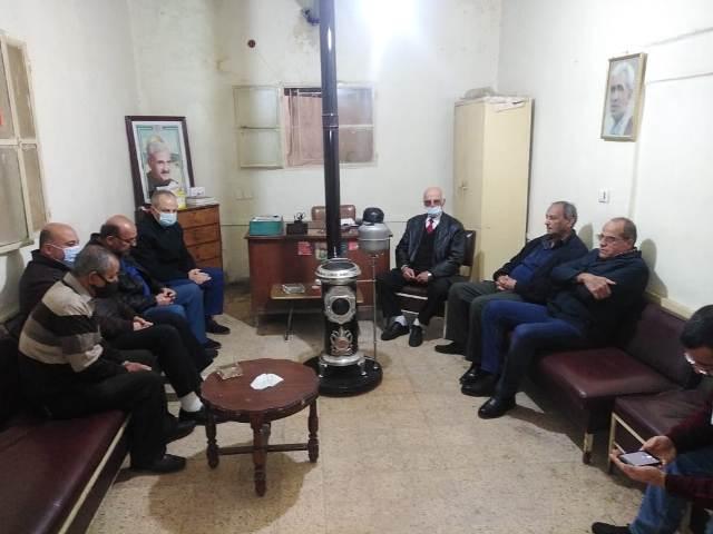 الجبهة الشعبية لتحرير فلسطين تلتقي حركة فتح في البقاع
