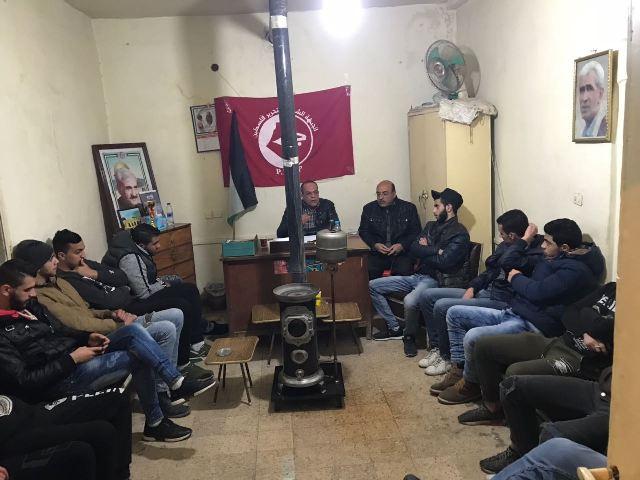 ندوة سياسية في بعلبك لمناسبة الذكرى السنوية لرحيل القائد جورج حبش
