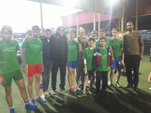 منظمة الشبيبة الفلسطينية تقيم دوري كرة قدم في ملعب مدينة الفرح في صيدا