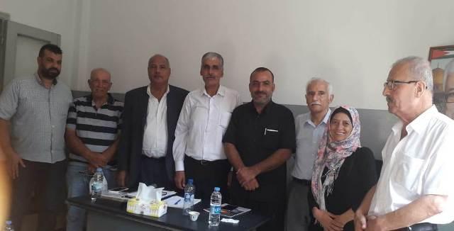 غنومي يلتقي اللجنة الشعبية لمدينتي طرابلس والميناء