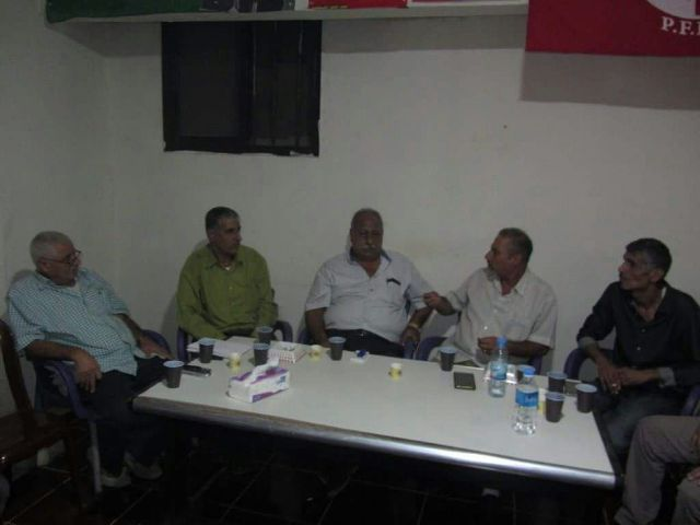 حركة أنصار الله المقاومة الإسلامية تلتقي الجبهة الشعبية لتحرير فلسطين