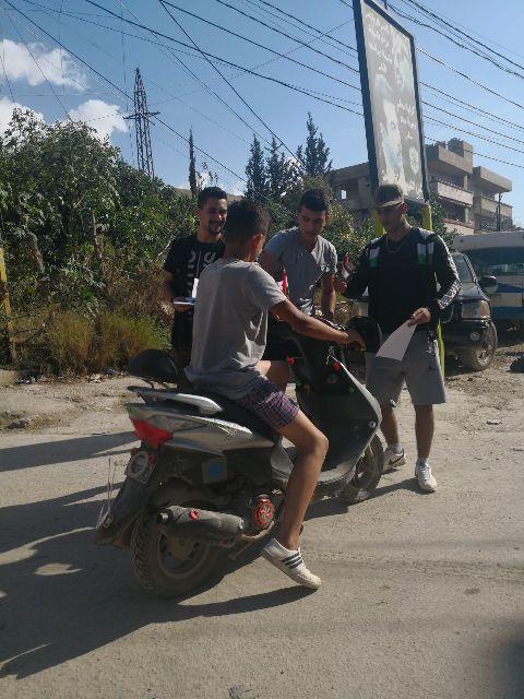 منظمة الشبيبة الفلسطينية في مخيم نهر البارد تؤكد على حق العودة