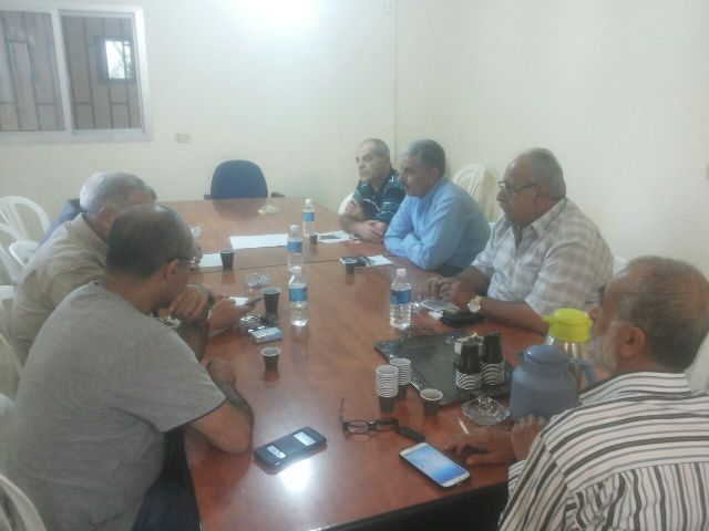 الجبهة الشعبية تستضيف الحزب الشيوعي اللبناني في منطقة الشمال
