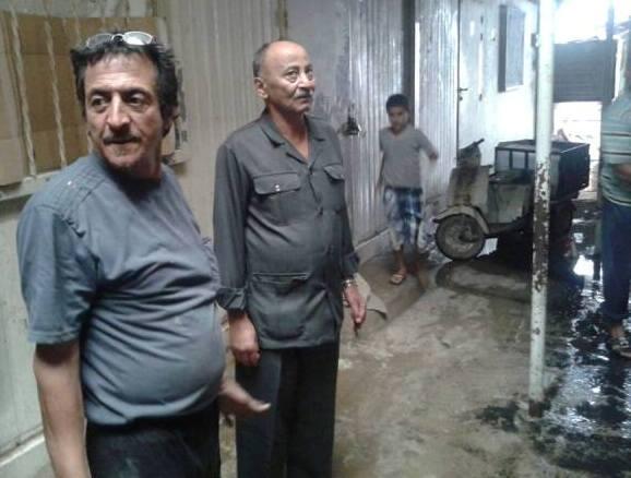 مخيم نهر البارد: أمين سر اللجان الشعبية يتفقد المنازل التي تعرضت للفيضان