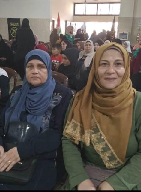 لجان المرأة الفلسطينية تهنئ الهيئة النسائية لحركة الجهاد الإسلامي