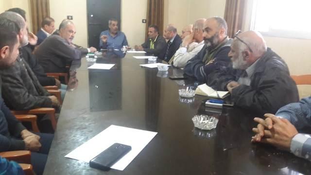 اجتماع للجنة الملف الميداني لمخيم نهر البارد