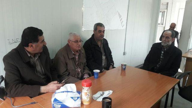 لقاء في مخيم نهر البارد لبحث تداعيات السلامة في عملية البناء
