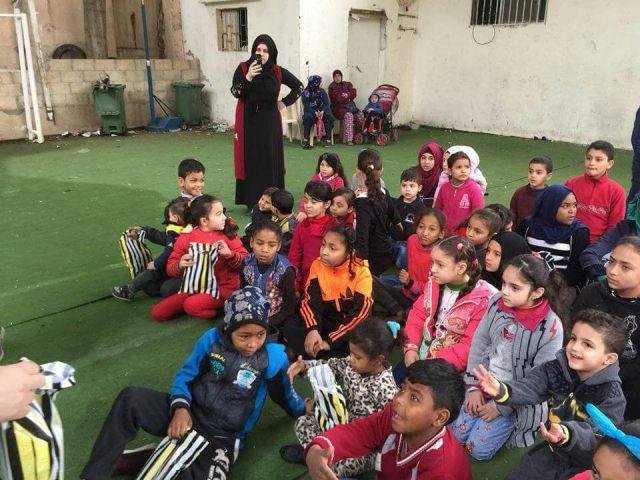 مؤسسة الشبيبة الفلسطينية وسما الإبداعية تقيمان نشاطًا في الشمال