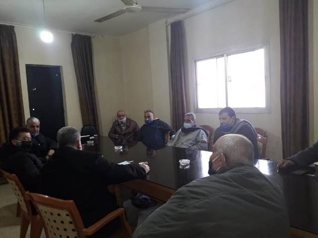 اللجنة الشعبية لمخيم نهر البارد تتابع أزمة انقطاع الكهرباء في حي العبدة