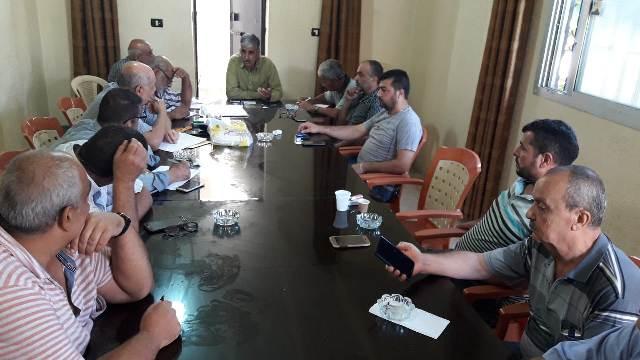لقاء بين الفصائل الفلسطينية واللجان الشعبية في مخيم نهر البارد