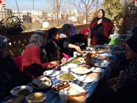 لجان المرأة الشعبية الفلسطينية في مخيم نهر البارد تحتفي باليوم العالمي للمرأة