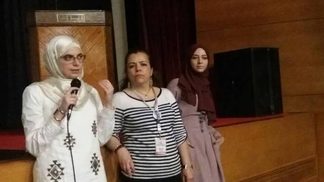 عش لاجئا لمرة واحدة في الرابطة الثقافية بمدينة  بطرابلس