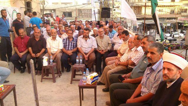 جبهة النضال في مخيم نهر البارد تكرّم الإعلاميين
