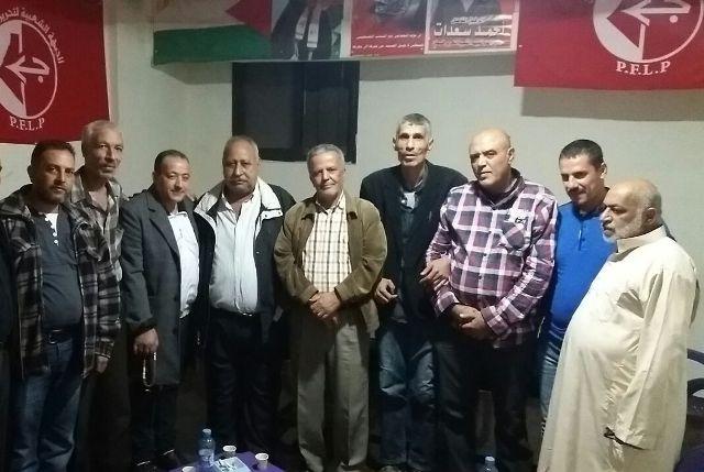 لقاء سياسي بين قيادتي الجبهة الشعبية والقيادة العامة في مخيم نهر البارد