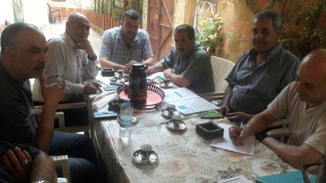 اللجنة العليا لملف إعمار مخيم نهر البارد تجتمع لبحث آخر مستجدات الإعمار