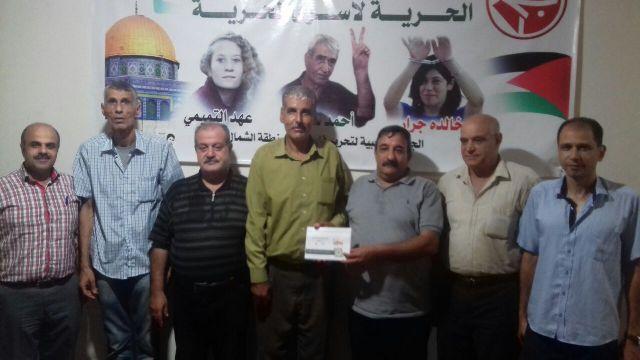 الجبهة الشعبية تلتقي اتحاد الأطباء في منطقة الشمال