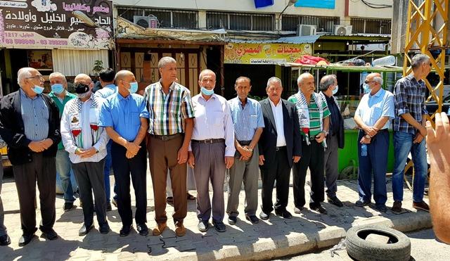 وزير الدفاع اللبناني الأسبق يعقوب الصراف يزور مخيم نهر البارد متضامنا مع الشعب الفلسطيني في مواجهاته الأسطورية في الداخل