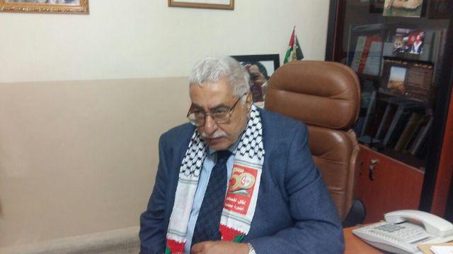 الجبهة الشعبية لتحرير فلسطين تكرم المناضل معن بشور