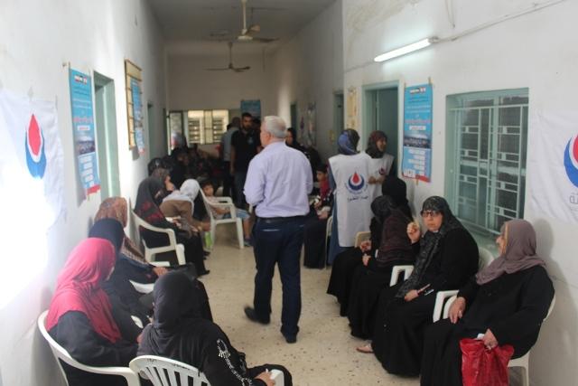 يوم صحي مجاني في مخيم البص في صور